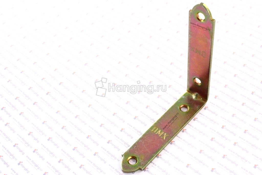 Уголок узкий металлический перфорированный