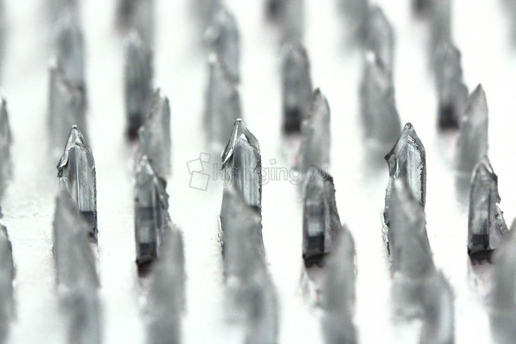Вид шипов у гвоздевой металлической пластины