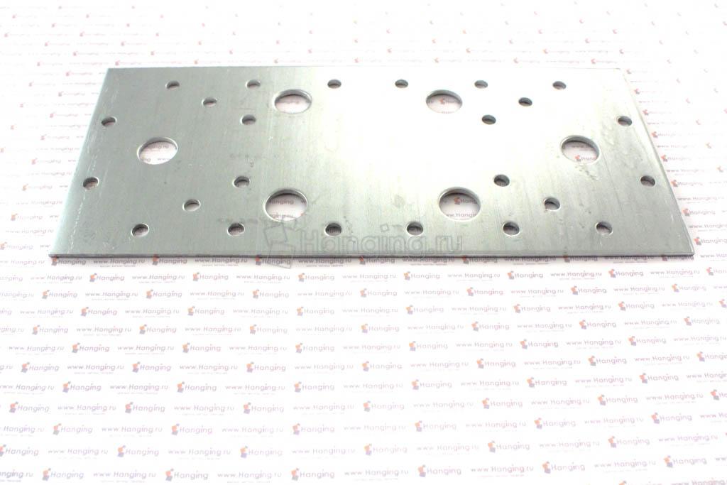 Перфорированная металлическая пластина 200х90х2
