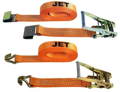 Ремни стяжные с храповым механизмом JET RSA