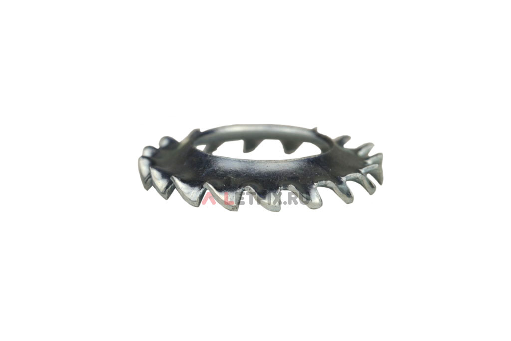 Шайбы конусные стопорные с наружными зубьями DIN 6798 Form V
