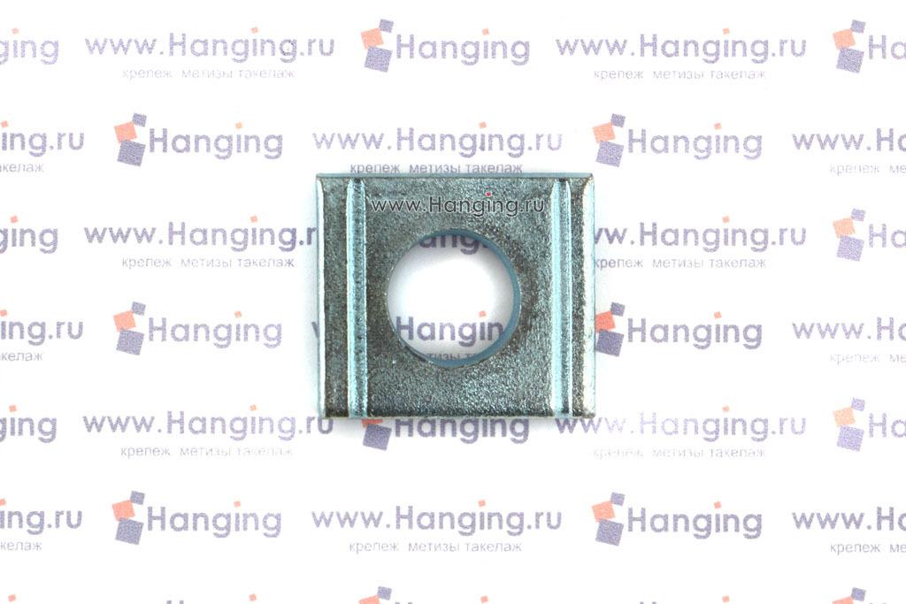 Шайба оцинкованная косая квадратная ГОСТ 10906-78 DIN 434
