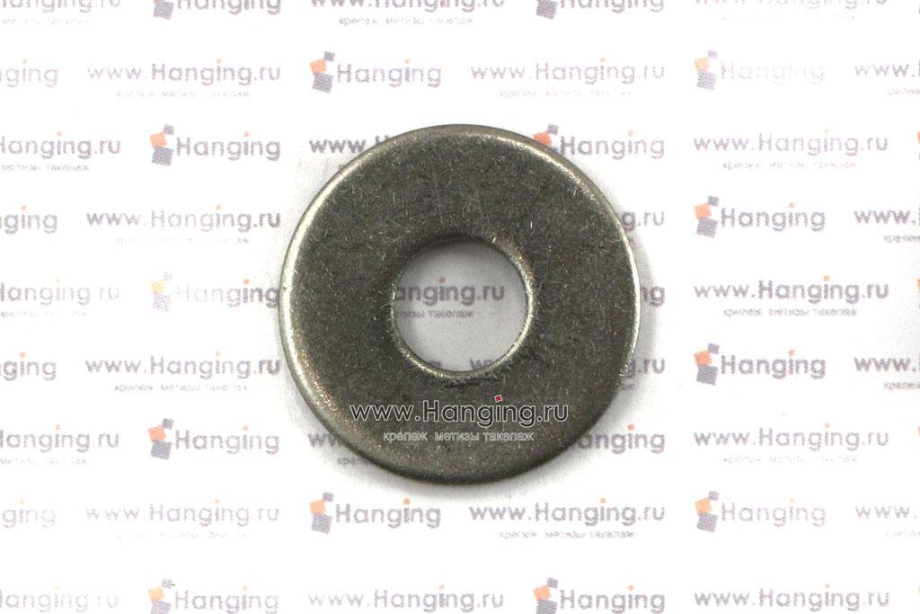 Шайба плоская кузовная DIN 9021 нержавеющая из стали А4