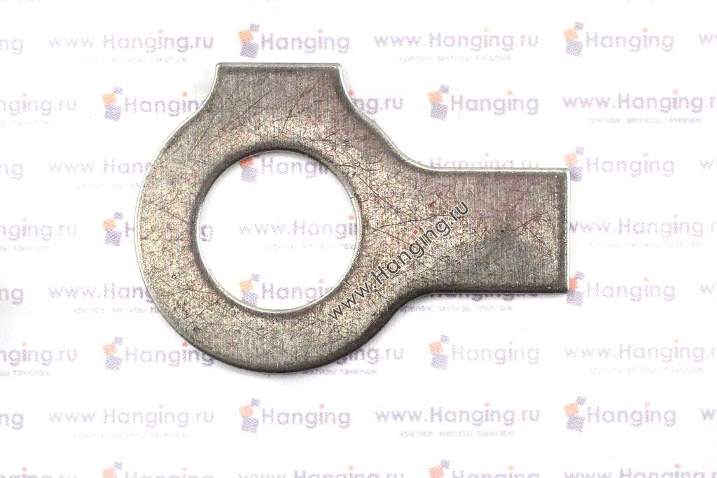 Шайба нержавеющая из стали А4 по стандарту DIN 463