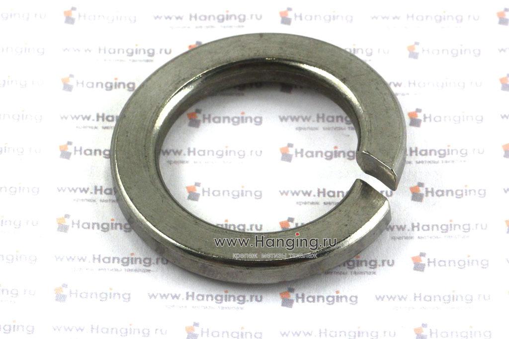 Шайба нержавеющая пружинная из стали А2 по стандарту DIN 127 и ГОСТ 11371-78