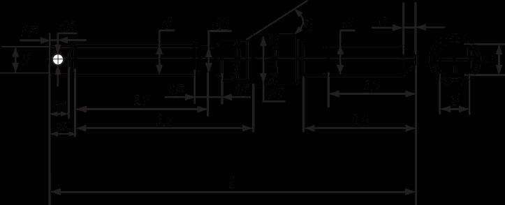 Шпилька фундаментного анкера типа 4 исполнения 2.