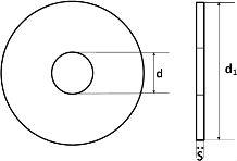 DIN 1052 — шайба увеличенная большой толщины.