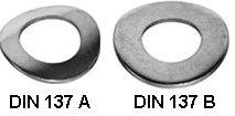DIN 137 — шайба волнистая изогнутая.