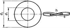Шайба пружинная тарельчатая DIN 137 Form B
