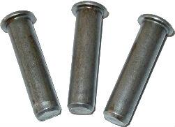 DIN 1436 — палец цилиндрический с плоской головкой увеличенного диаметра.