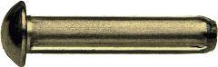 DIN 1476 — заклепка (штифт) с насечкой, с полукруглой головкой.
