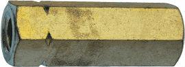 DIN 1479 — удлиненная гайка, длинная гайка с насечками на ребрах.
