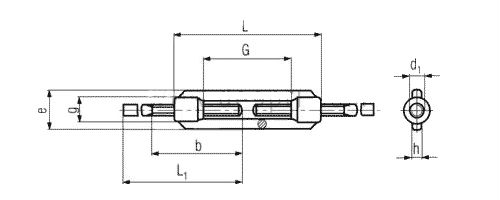 Талреп DIN 1480 - размеры, характеристики.