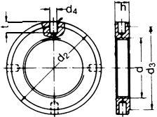 Гайка DIN 1816 - размеры, характеристики.