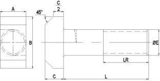 DIN 188 - характеристики, размеры