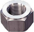 DIN 2510 — шестигранная гайка из нержавеющей стали.