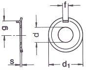 Шайба DIN 432 — размеры, характеристики.