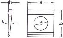 Шайба DIN 435 - размеры, характеристики.
