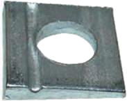 DIN 435 — шайба квадратная для двутавровых балок. Шайба для двутавров.