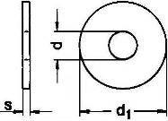 Шайба DIN 440 - размеры, характеристики.