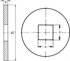 Шайба DIN 440 тип V - размеры, характеристики.