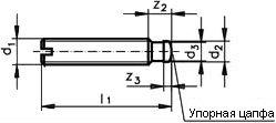 Шпилька DIN 6332 - размеры, характеристики.