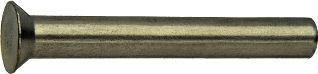 DIN 661 — заклепка под молоток с потайной головкой.