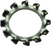DIN 6797 — шайба зубчатая, упругая (врезная шайба).