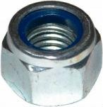 DIN 6924 — гайка с нейлоновым или полипропиленовым кольцом.