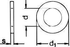 DIN 7349 — шайба толстая плоская.