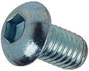 DIN 7380 — винт с полукруглой головкой и внутренним шестигранником под ключ.