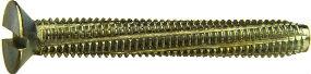 DIN 7513 F (DIN 7513F) — самонарезной винт с потайной головкой с крестообразным (Philips) шлицем.