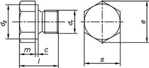 Пробка DIN 7604, форма A - размеры, характеристики.