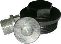 DIN 7604 С пробка заглушка с пресс-шайбой шестигранная резьбовая.