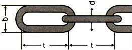 DIN 763 — цепь стальная длиннозвенная.