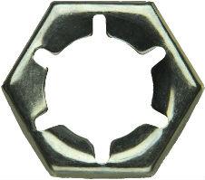 DIN 7967 — гайка пружинная со стопорными лапками против выкручивания.