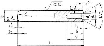 DIN 797 — болт анкерный фундаментный.