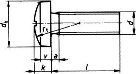 Винт DIN 7985, шлиц Philips - размеры, характеристики.