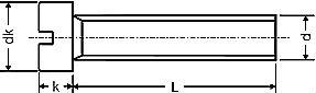 Винт DIN 84 - размеры, характеристики.