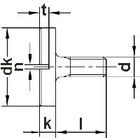 Винты DIN 921 - размеры, характеристики.