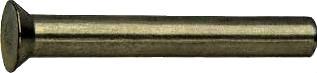 Заклепка с потайной головкой ГОСТ 10300-80.