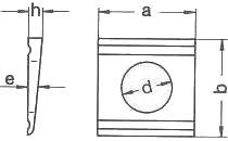 Шайба косая ГОСТ 10906-78 — размеры и характеристики.