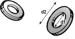 Шайба плоская ГОСТ 9649-78 — размеры и характеристики.