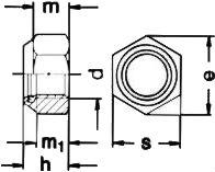 ISO 10511 — размеры, характеристики.