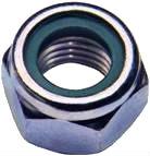 ISO 10511 — гайка шестигранная со стопорным кольцом.