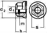 ISO 12125 — размеры, характеристики.