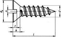 Саморез ISO 1482 — размеры, характеристики.