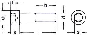 Винт ISO 21269 — размеры, характеристики.