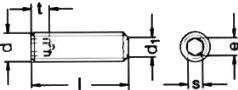Винт установочный ISO 4029 — размеры и характеристики.