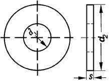 ISO 7093-2 — размеры, характеристики.